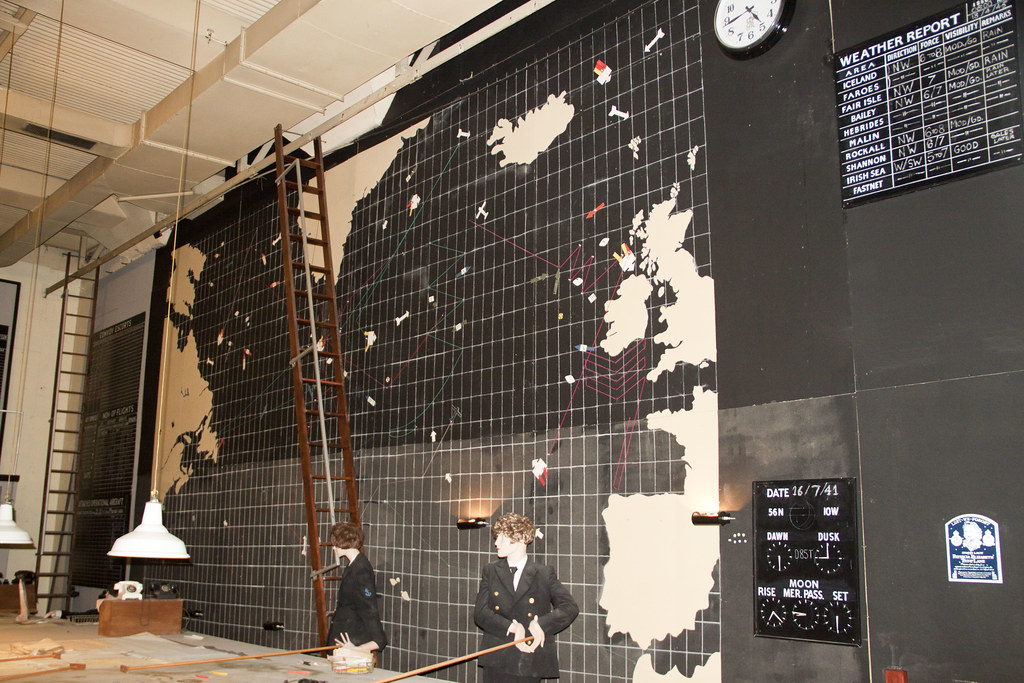 Western Approaches World War 2 joint control centre Liverp… | Flickr
