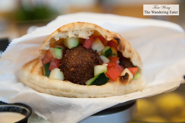 Falafel sandwich by Som
