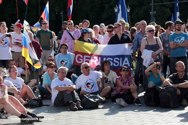 08.08.2016 Auftakt der nationalistischen Druschba - Friedensfahrt Berlin-Moskau