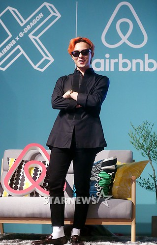 G-Dragon - Airbnb x G-Dragon - 20aug2015 - Starnews - 06