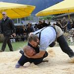 Südwestschweizer Schwingfest Aktivschwinger Aigle