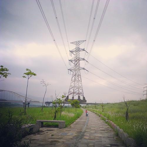 大溪橋自行車道。
