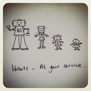 Holbots, at your service
