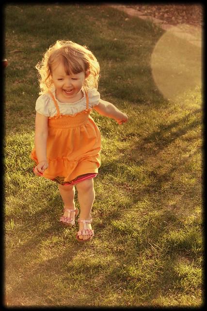 running in sun