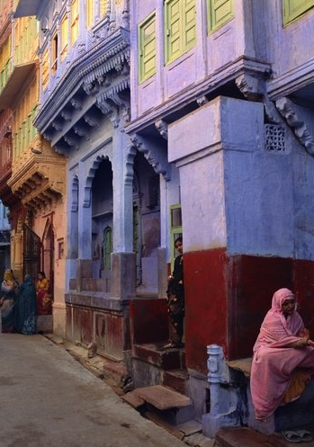 Jeffrey Becom, Street in Jodhpur, Rajasthan, India, 2008