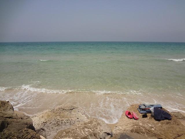 Vídeo da praia em Umm Al Quwain, Emirados Arabes Unidos