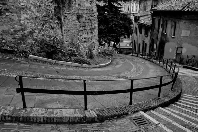 Winding Roads of Perugia