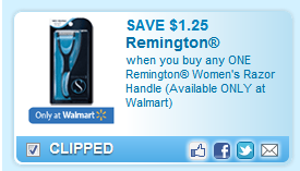 Remington Women Coupon
