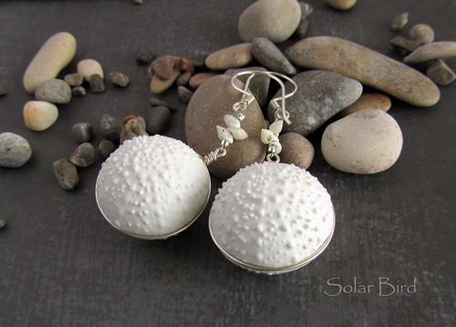 """Earrings """"On the seashore"""""""