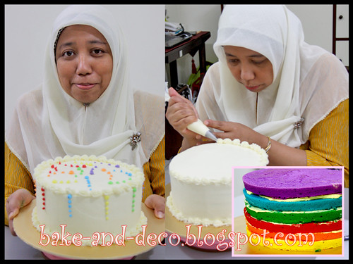 ITALIAN RAINBOW CAKE (FULLY HANDS ON) - 14 MARCH 2012