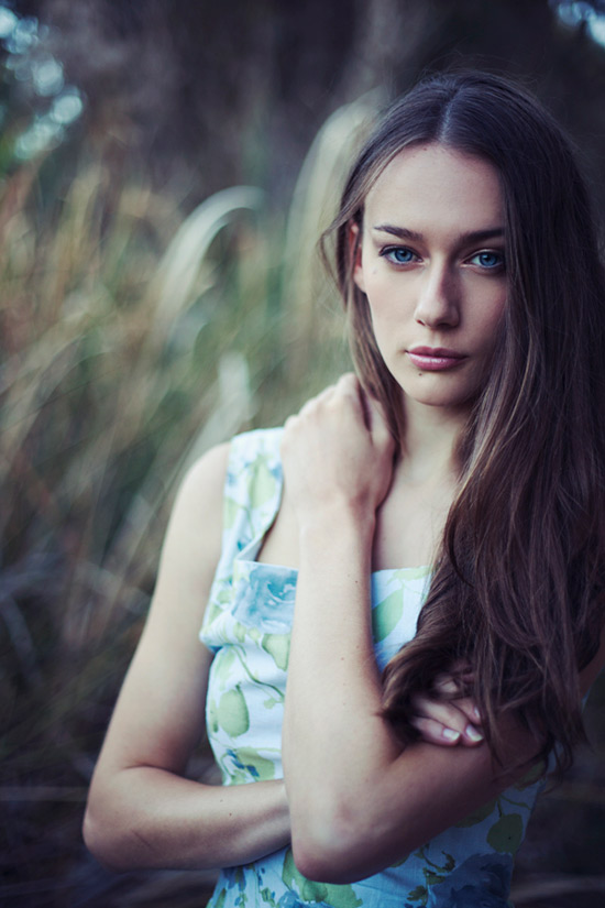 Feminine Portrait Photography by Mary Parker