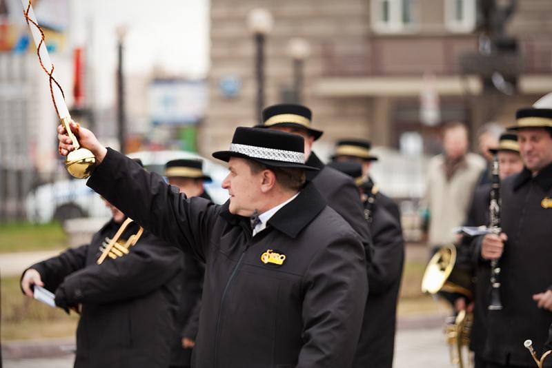 Репортажная фотосъемка, парад 1 мая, Новосибирск, Духовой оркестр