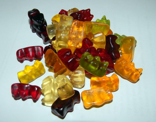 Haribo gummy bears multi colour Germany 21st April 2012 11:04.58am