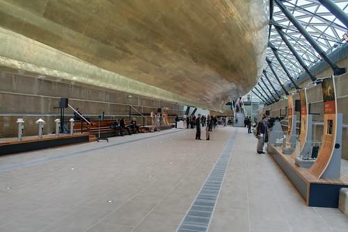 The lower floor