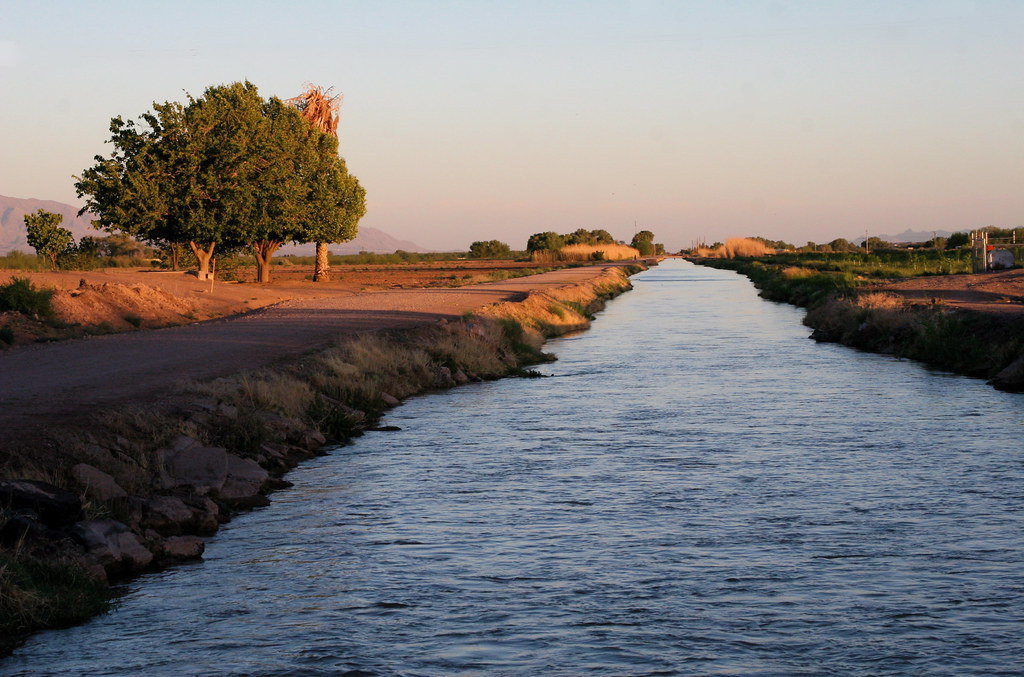 The Rio Grande at the End of the Day