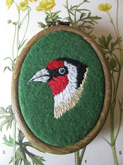 Goldfinch Miniature Wall Hanging
