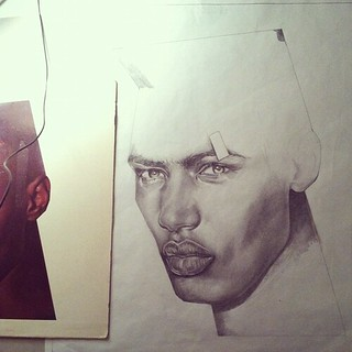 Grace Jones/Jean-Paul Goude 108 WIP