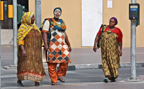 African Ladies in Dubai