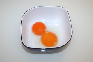 07 - Zutat Eigelb / Ingredient yolk