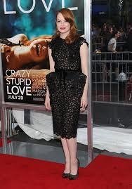 Emma Stone Cap Toe Heels Celebrity Styling Fashion