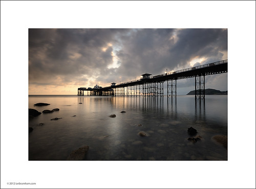 Sunrise at Llandudno Pier