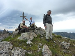 Punta di Quercitella : le sommet avec la croix