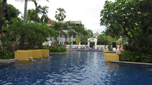 Koh Samui Kandaburi Resort beachpool サムイ島カンダブリリゾート (3)