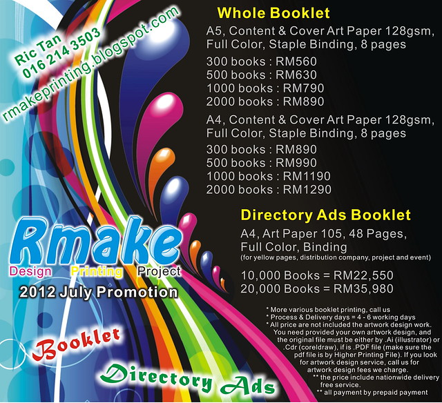Rmake Printing 2012 Whole Booklet, Directory Ads Booklet
