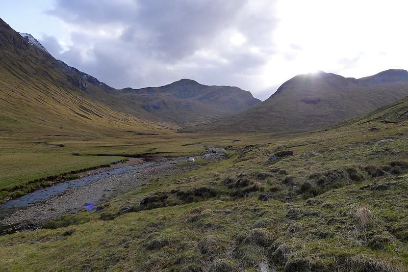 Camping near Loch Monar