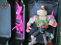 "Tara Toy Corp. :: ""TEENAGE MUTANT NINJA TURTLES"" - COLLECTORS CASE xix / inner trays (( 1988 ))"
