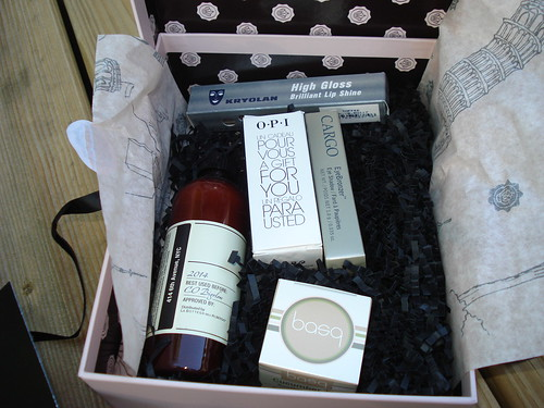Glossybox Contents - April 2012