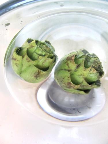 How not to make stuffed artichokes