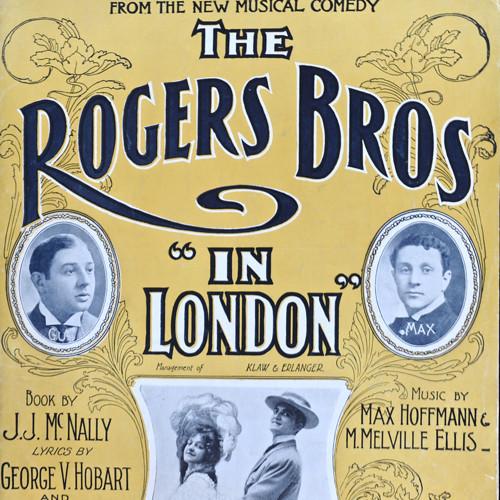 c.1903 'In London' Sheet Music