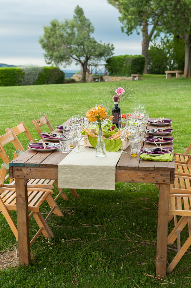 Tuscany Wedding Picnic