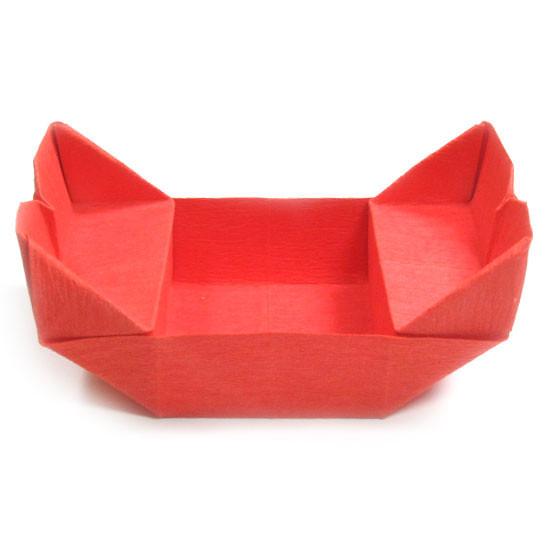How to make a gondola origami chair flickr photo sharing for Craft work with paper folding