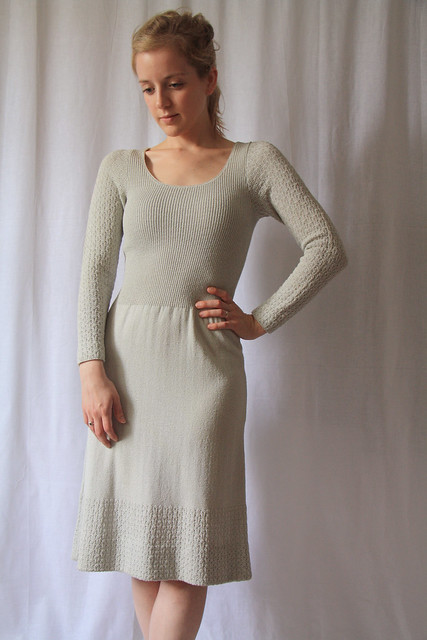 1970s mint sweater dress