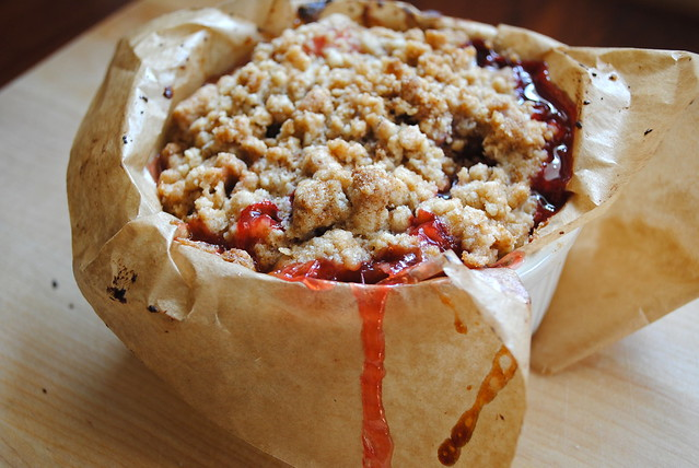 Strawberry Rhubarb Buckle