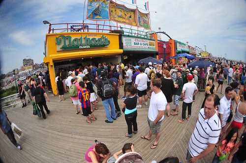 Coney Island, NY (by: Asterio Tecson, creative commons license)