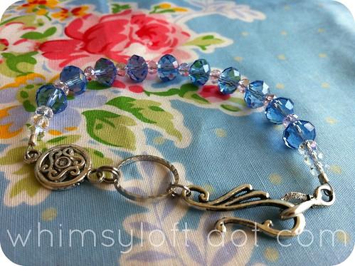 rosary bracelete sapphire