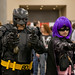 Big Daddy and Hit Girl at Phoenix Comicon