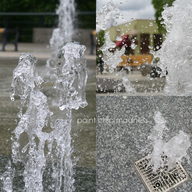 fountain collage