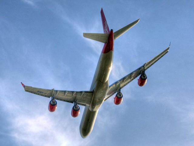 Virgin Atlantic Airbus A340-642X (G-VBUG)