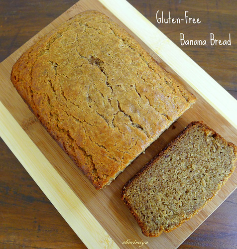 Gluten-Free Banana Bread, homemade by sherimiya ♥