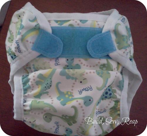 CushyBum Diaper Cover Front