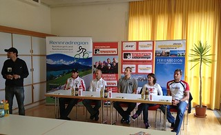 Official Press Conference TriStar Salzkammergut 2012