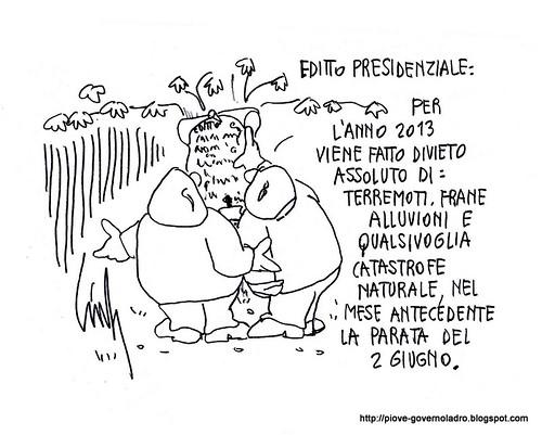Editto Presidenziale by Livio Bonino