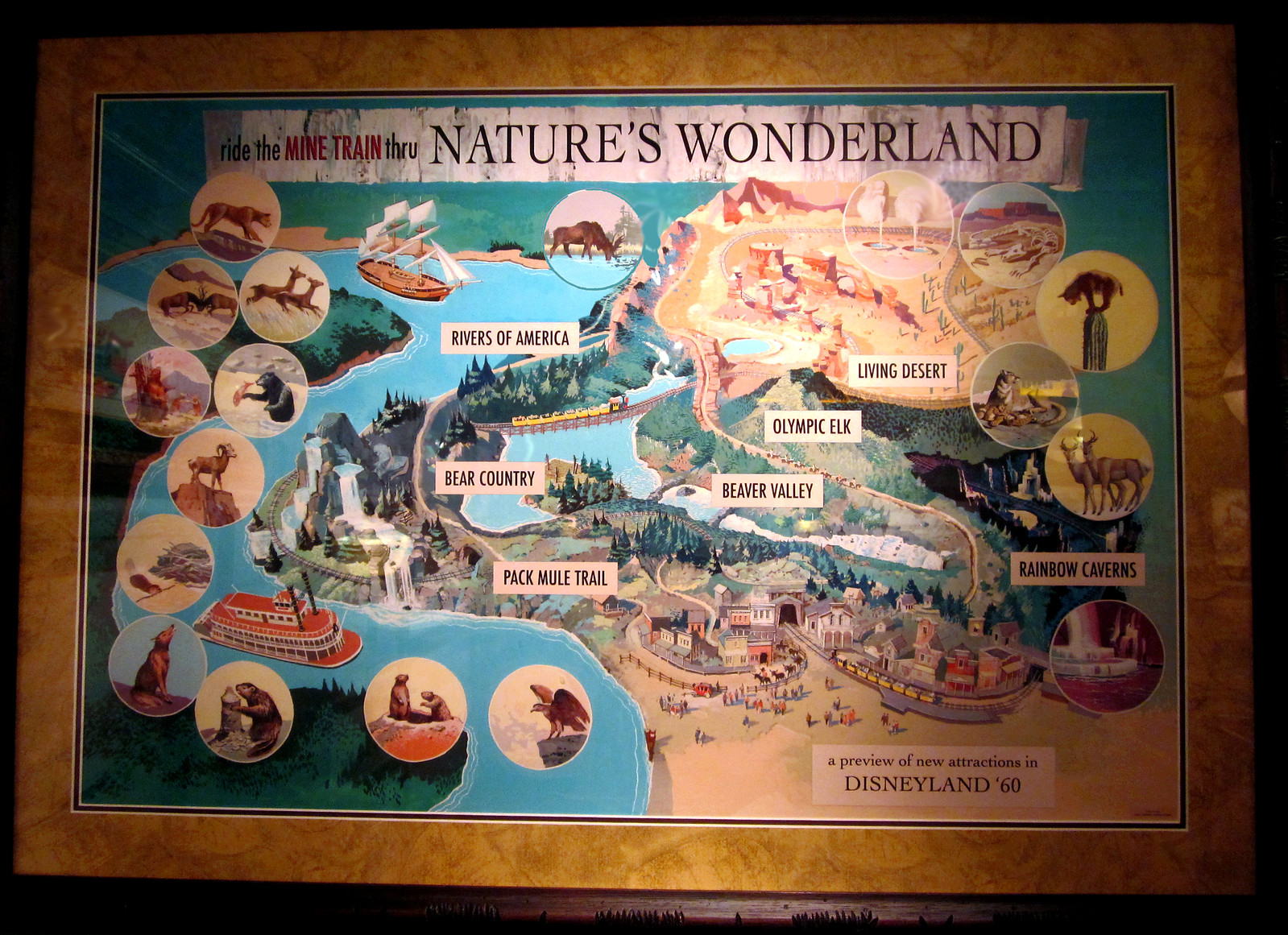 Nature's Wonderland - DISNEYLAND - Preview Poster - 1960