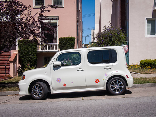 Street Parking: Flower Power by the other Martin Taylor