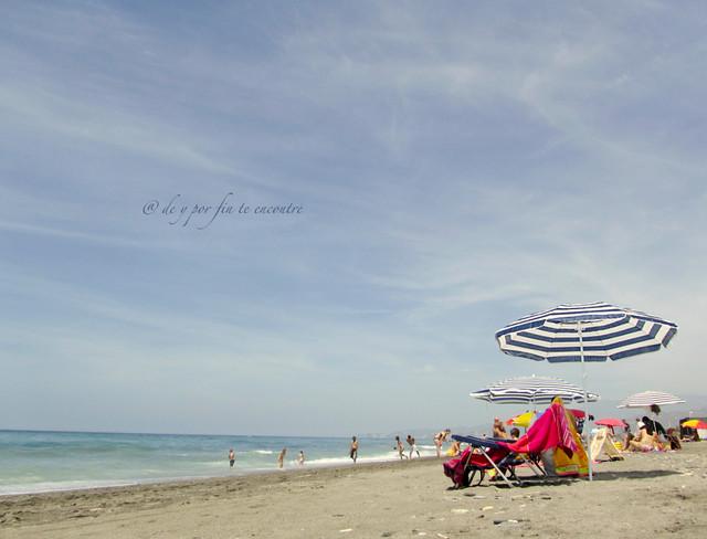Primer día de playa de este aún no estrenado verano II.