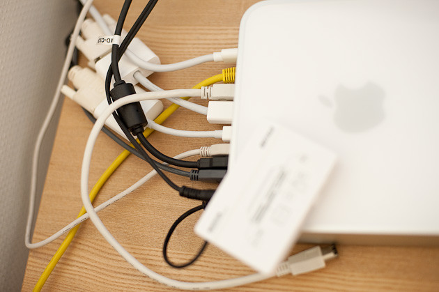 Mac mini cabling